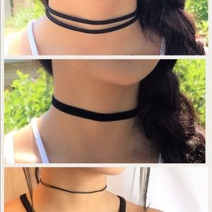 3 PACK of chokers!